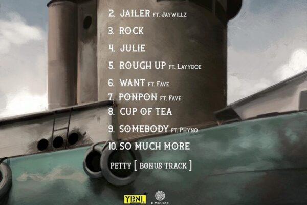 Olamide's Uy Scuti album tracklist - Music Wormcity