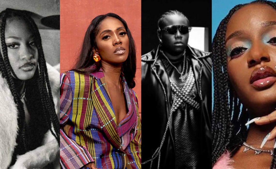 4 Female Nigerian Artistes Currently Making Waves.